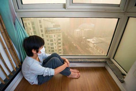 boy vs polution