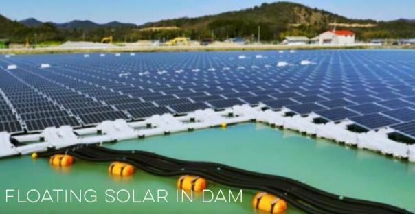 solar in dam